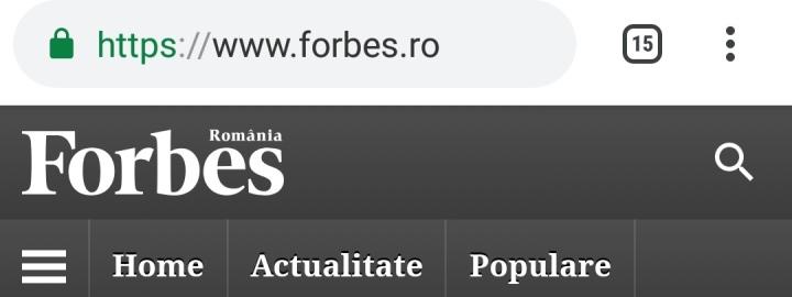 Lectia smereniei in business, oferită de Bianca Dorobanțu, ForbesRomânia